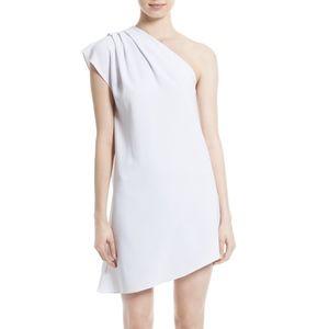 Alice+Olivia Melina One Shoulder Asymmetric Dress